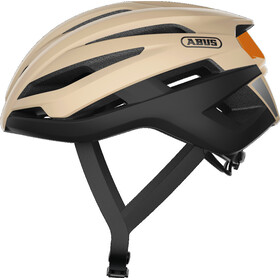 ABUS StormChaser Gravel Kask, czarny/beżowy